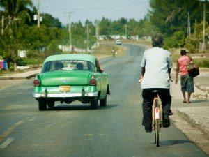 Vervoer, Cuba met kinderen