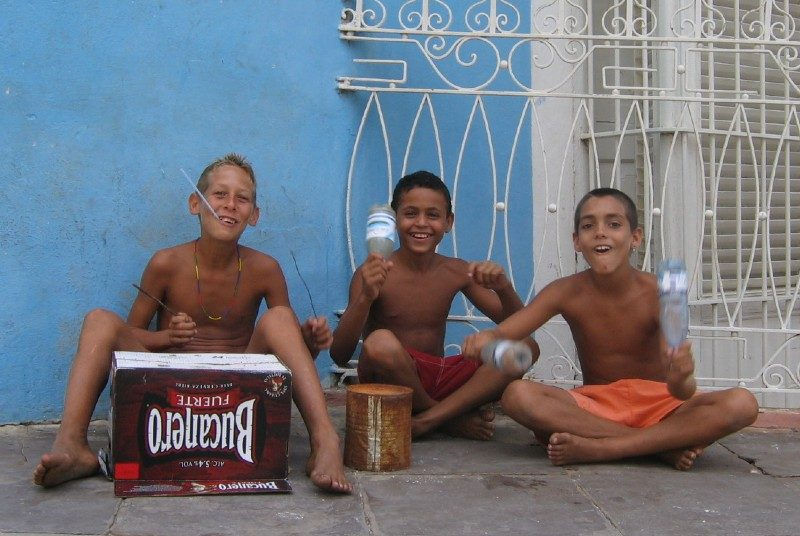 Verzeleringen Riksja Family Cuba