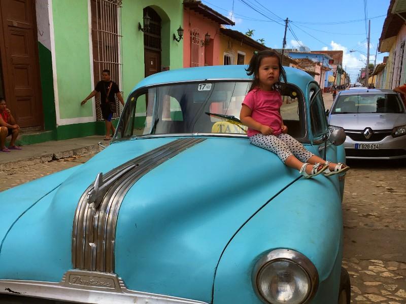 Vervoer Cuba - Oldtimer Trinidad
