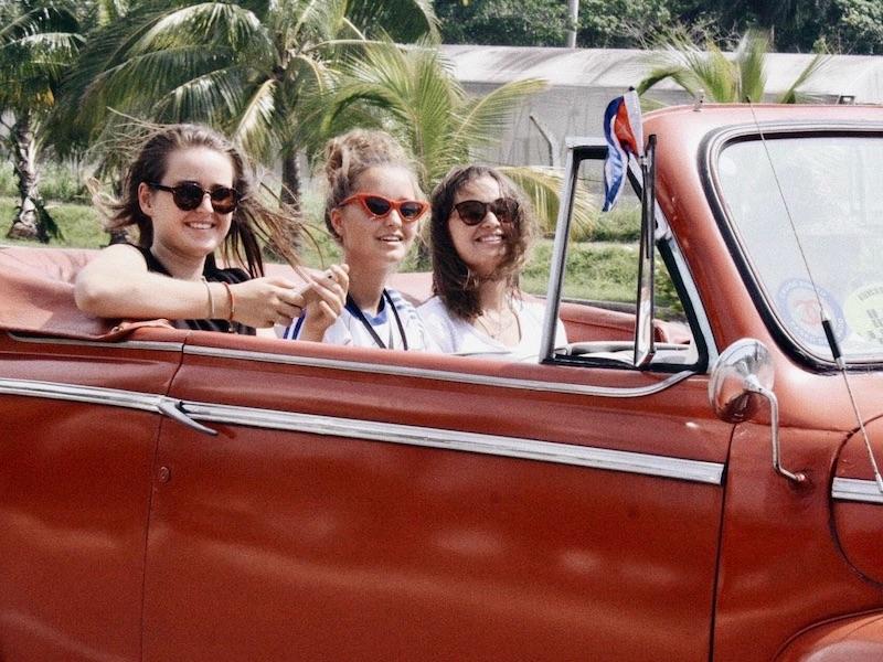 Rondreis Cuba drie weken - Oldtimer met tieners
