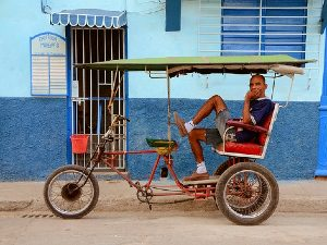 Rondreis Cuba drie weken - Bici taxi in Trinidad