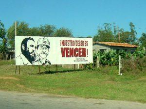 Cuba reizen - Fidel Castro onderweg