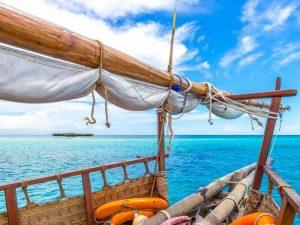 Strand Mombasa - dhowboot
