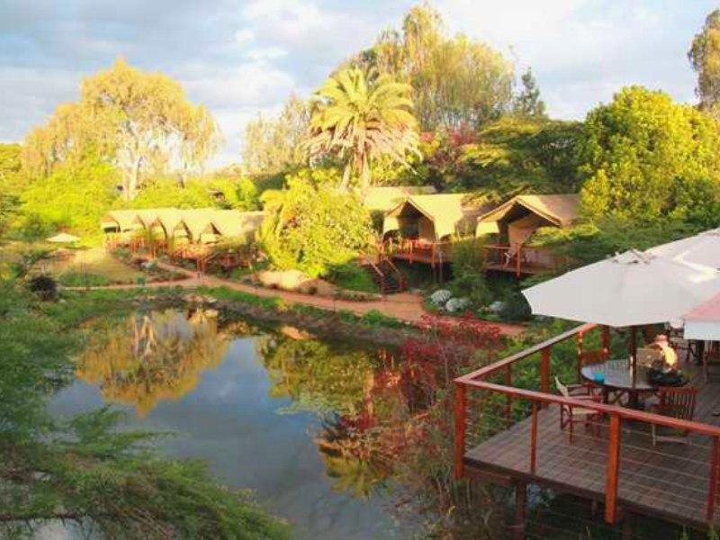 Uitzicht Nairobi eco camp