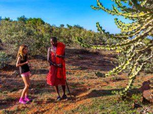 Masai Mara - aankomst Maji Moto