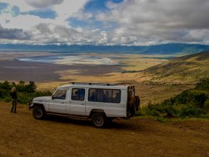 Ngorongoro national park kraterrand - National Park Tanzania