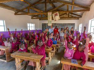 Safari Kenia - op bezoek bij een schooltje