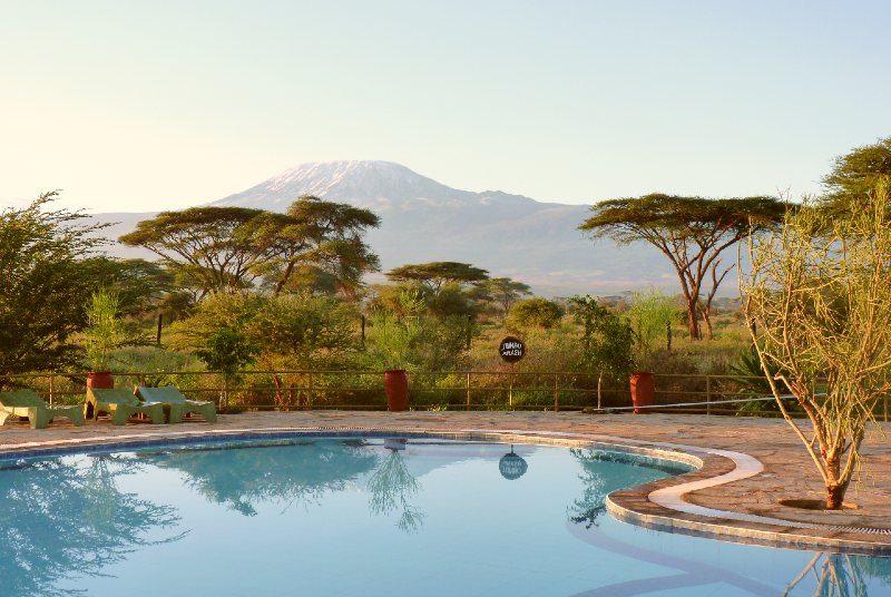 Amboseli Tsavo lodge met zwembad