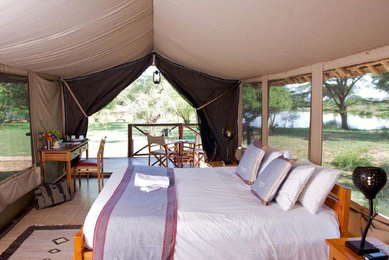 Kenia safari - je tent bij Tsavo