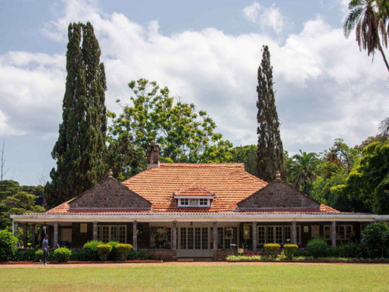 Nairobi - museum Karen Blixen
