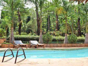 Safari Tanzania - lodge met zwembad