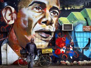 Nairobi - muurschildering