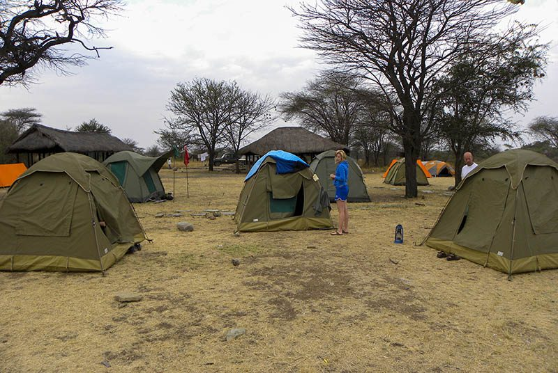 national park tanzania verblijf