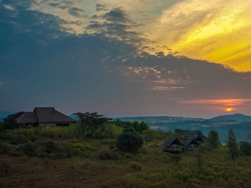 Uitzicht National Park Tanzania reis