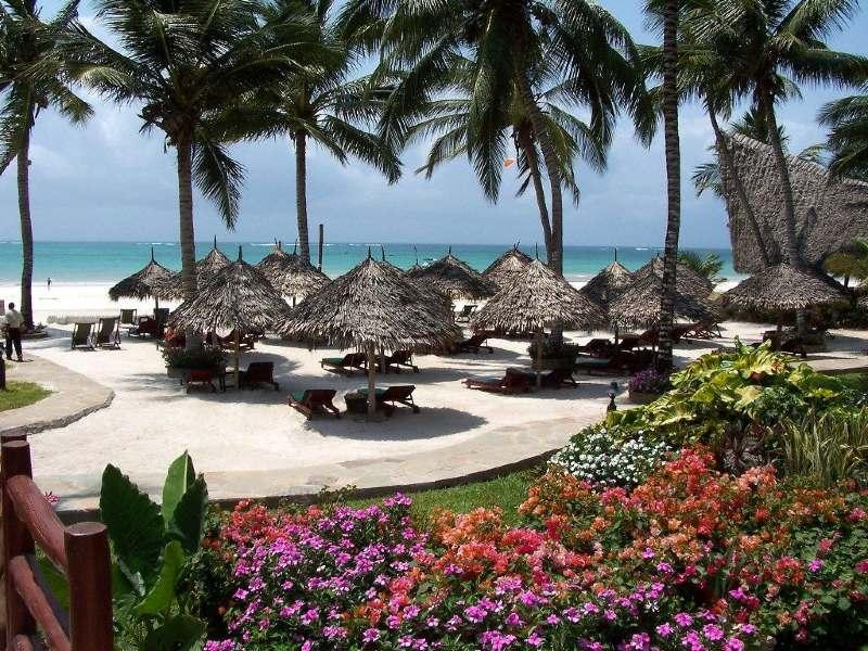 Diani Beach resort kleinschalig