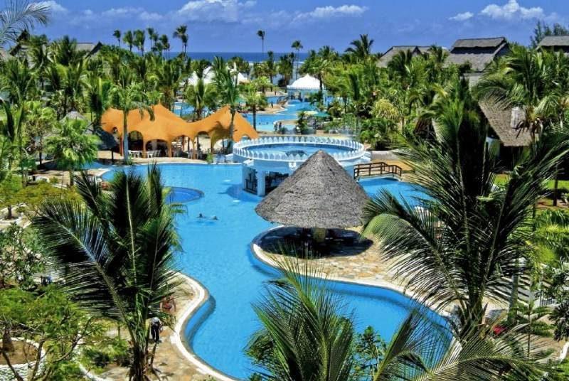 Diani Beach resort met zwembad