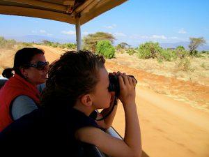 Wild spotten tijdens Kenia safari