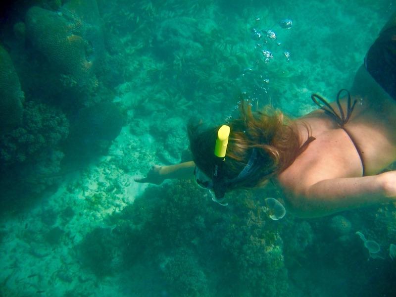 Zanzibar - snorkelen in zee