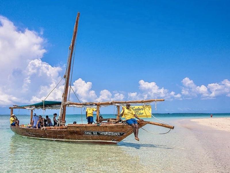 Zanzibar - dhow excursie