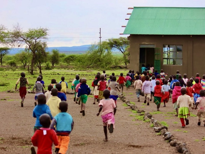 Masai Tanzania - reis met kinderen - sociaal project