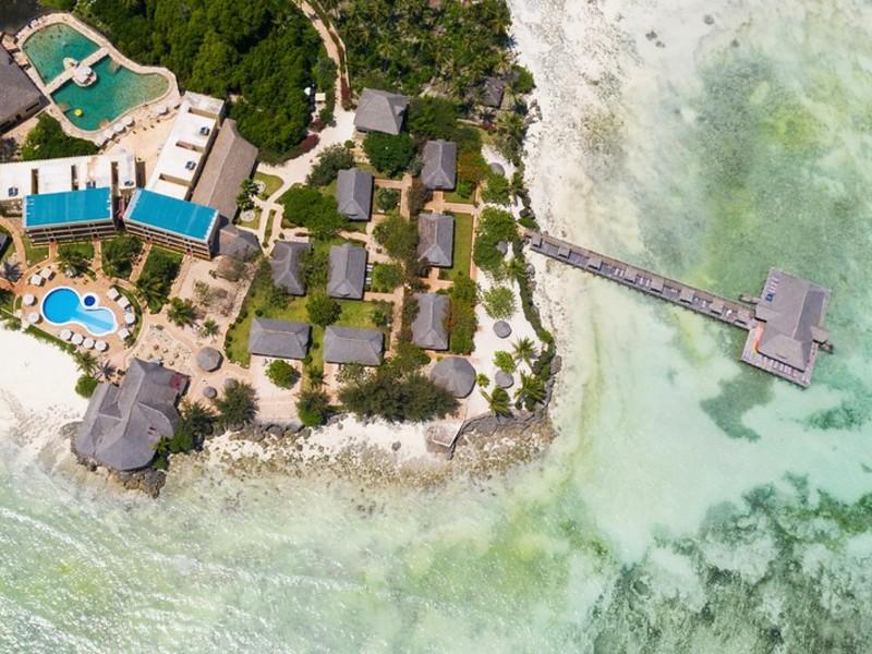 Zanzibar Special Stay - uitzicht op het resort