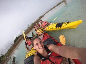 erkunden Sie die Lagune Bacalar