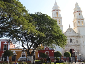 Kirche in Campeche