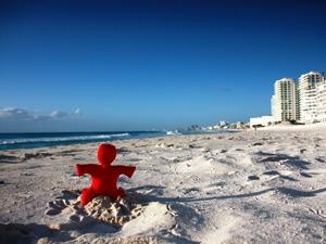 Mexiko-Strand-Cancún-Erleben