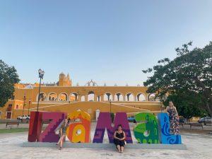 Mexiko-Die-gelbe-Stadt-Izamal