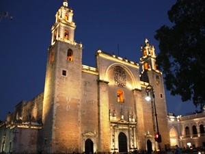 Mexiko Merida Kirche Kathedrale de San Ildefonso