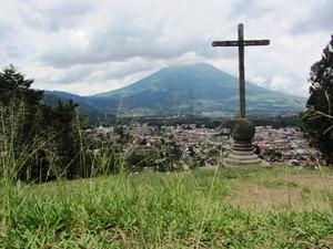Berg la Cruz mit Aussicht