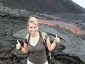 Vor der Lava