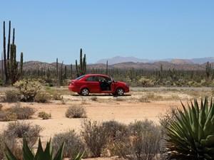 Baja California Rundreise Cataviña Mietwagen