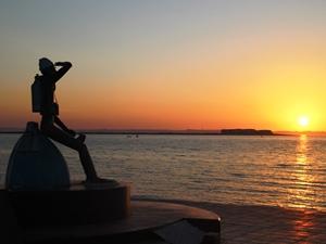 Sonnenuntergang La Paz