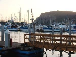 Baja California Hafen von Ensenada