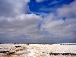 Besuchen Sie währen der Gruppenreise Baja California die Salzgewinnungsanlage bei Guerrero Negro