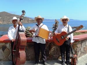 Mariachis in Baja California
