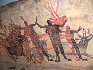 Felsenmalereien