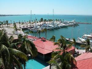 Mexiko Baja La Paz Hafenblick