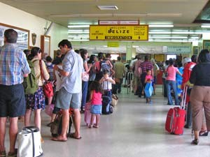 Belize Rundreise Belize City Airport