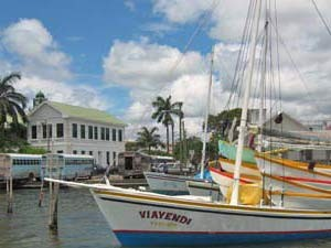 Hafen in Belize City