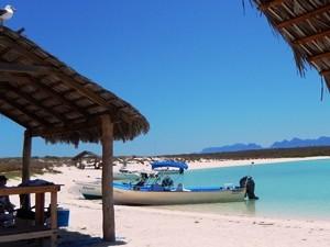 Mexiko-bnaja-loreto-Isla Coronado-Strand