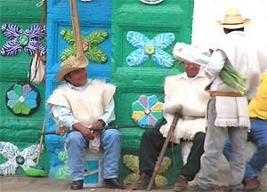 Indio Männer Chamula