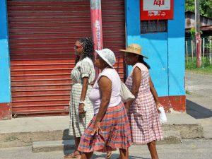einheimische Frauen in Livingstone