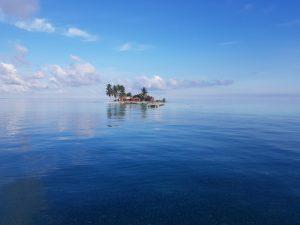 Einsame Insel in Belize