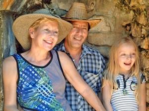 Familie in Villahermosa bei Mexiko Yucatan Rundreise