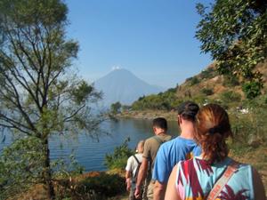 Atitlan See Wanderung