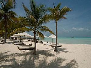 Strand Isla Mujeres Mexiko Rundreise