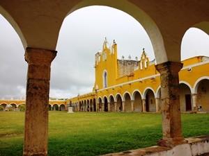 Mexiko Yucatan Rundreise Izamal Kloster