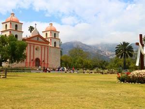 USA-Kalifornien-Santa-Barbara-Mission